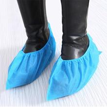 100pcs Thickening Non-woven Shoe Cover Non-slip Shoe Cover Shoe Covers Disposable Non Slip Shoes Cover Bootie Dropshipping cheap Nonwoven Fabric