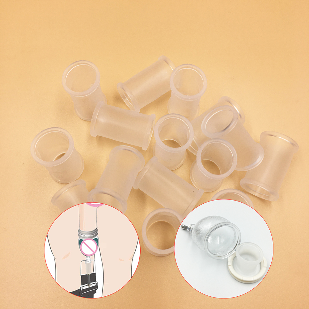 Silicone Male Penis Sleeve Penis Condom Penis Exerciser Extender Adult Sex Toys Stretcher Max Vacuum Enhancer Enlarger Sleeves
