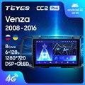 TEYES CC2L и CC2 Plus Штатная магнитола For Тойота Венза GV10 For Toyota Venza 2008 - 2016 Android до 8-ЯДЕР до 6 + 128ГБ 16*2EQ + DSP 2DIN автомагнитола 2 DIN DVD GPS мультимедиа автомоб...