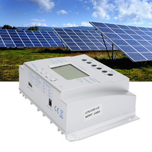 MPPT Solar Charge Controller MPPT Voltage Current LCD Display Battery Regulator Charger 12V24V60A me mppt4880d 80a mppt china price solar charge controller with lcd display