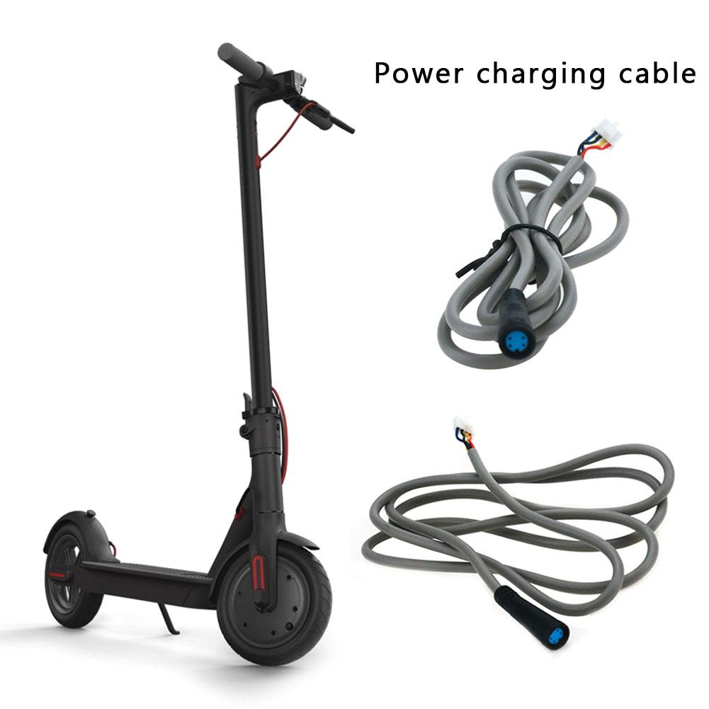 Battery Charging Line For Xiaomi M365 Scooter Power Adapter Line Accessories M365 Scooter Control Data Line Scooter Accessries 4