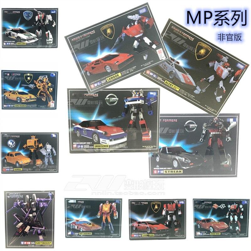 Figuras de acción de TAKARA TOMY IN BOX KO TKR, MP-12 maestra de MP-13, MP-15, MP-16, MP-17, MP-18, MP-19, MP-20, MP-21, MP-29