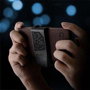Image 4 - 革電話保護ケースフィルムステッカー中空アウトデザインハウジングカバー asus ROG 電話 II 2/ZS660KL 電話シェル