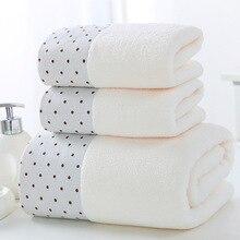Newest 3pcs/Set Soft Cotton Hotel Bath Towels For Adults Absorbent Terry Hand Bath Beach Face Sheet Women Towels Set