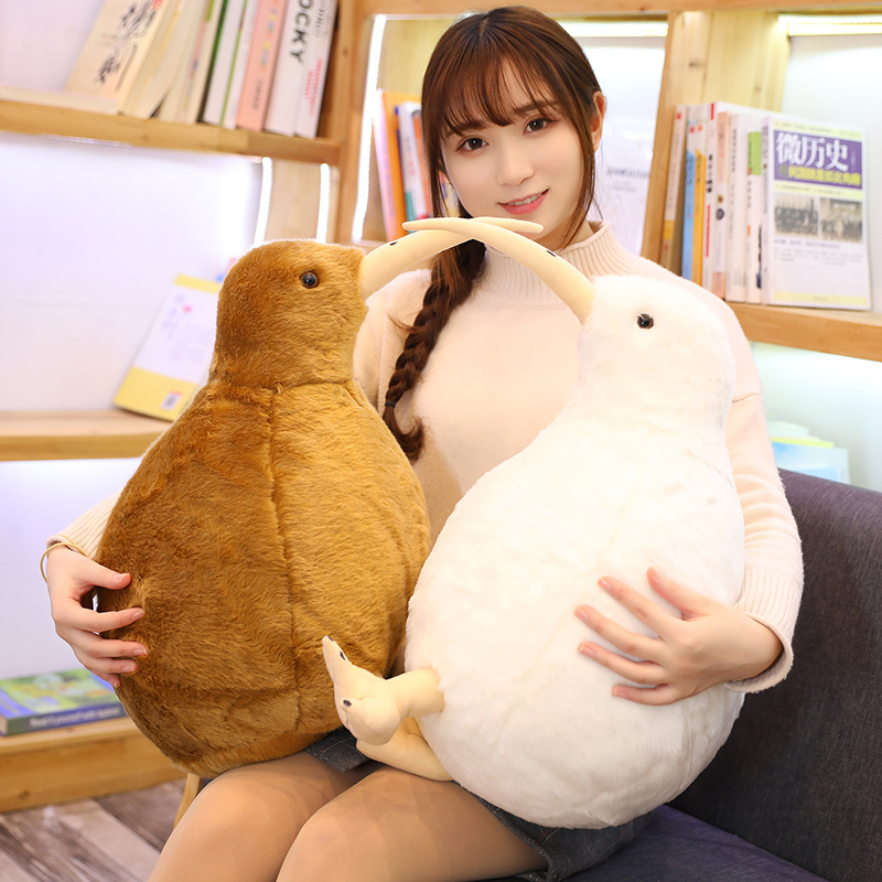 Simulation Kiwi Bird Plush Toy Cute Kiwi Plush Stuffed & Plush Animals Soft Doll Kids Toys For Children Birthday Gift