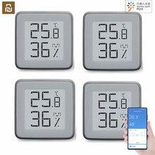 مقياس حرارة بلوتوث 2020 Youpin MMC مقياس للرطوبة شاشة حبر إلكتروني BT2.0 مستشعر ذكي لدرجة الحرارة والرطوبة يعمل مع تطبيق MIJIA