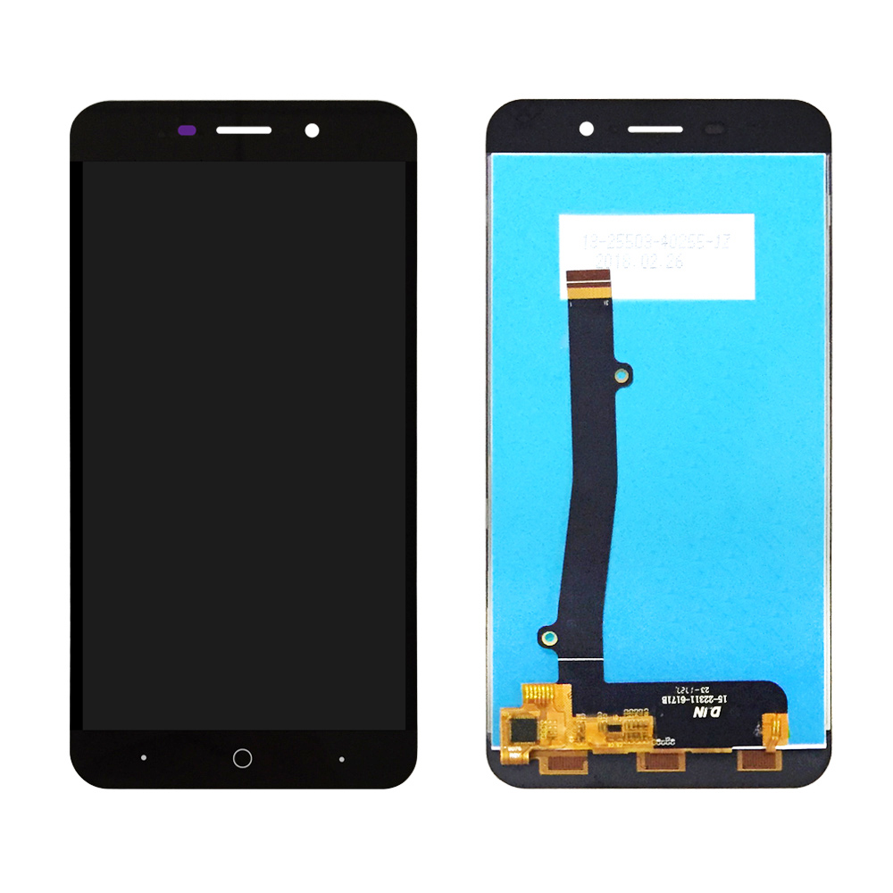 For <font><b>ZTE</b></font> <font><b>Blade</b></font> <font><b>A602</b></font> <font><b>LCD</b></font> <font><b>Display</b></font> and touch Screen Digitizer Assembly for <font><b>ZTE</b></font> <font><b>A602</b></font> <font><b>LCD</b></font> Glass Panel free shiping image