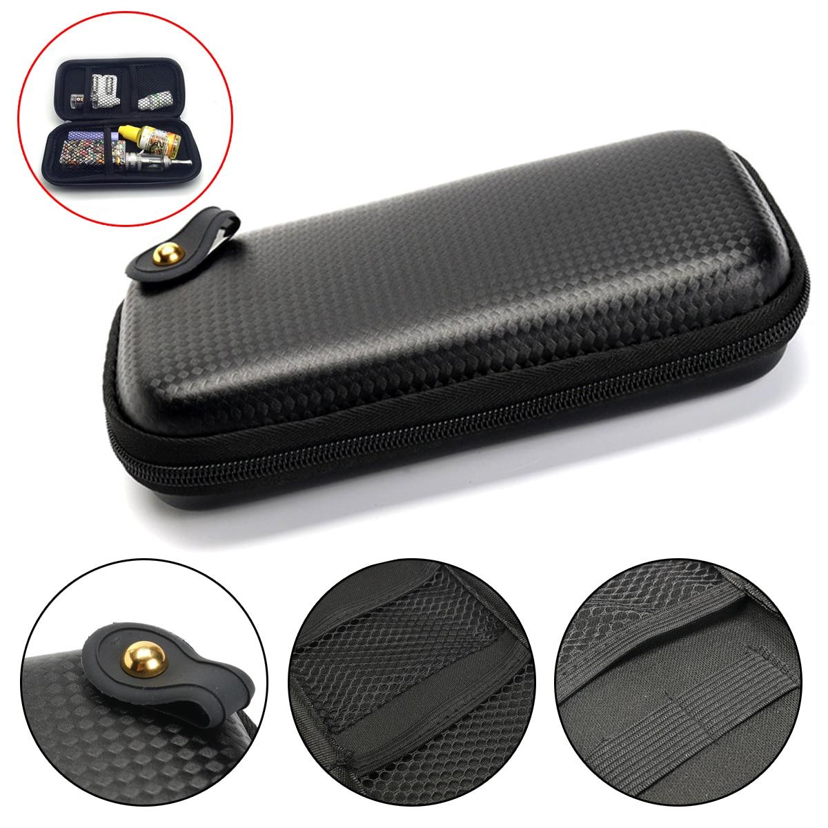 Electronic Cigarette Portable Vape Bag Storage Tools Travel Case Box Mini Storage Multi-function EVA/KTS Waterproof Zipper Bag