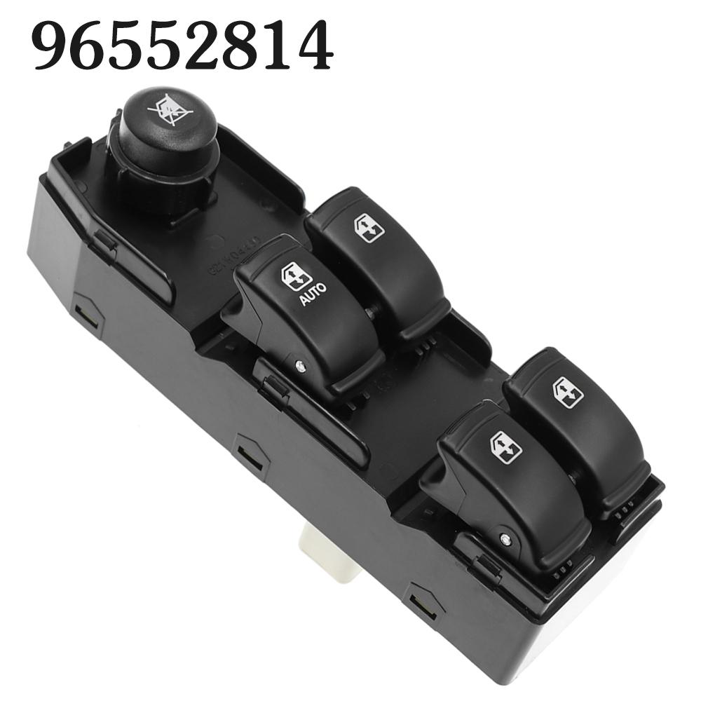 Power Window Master Switch For Buick Chevrolet Optra Daewoo Lacetti 96552814 Car Auto Front Left Driver Side Electric Button(China)