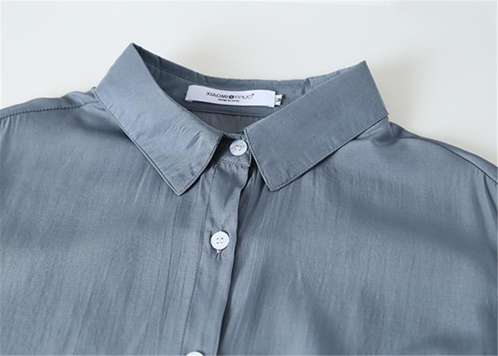 Spring Women Blouse 2020 Summer Blouse Korean Long Sleeve Womens Tops Blouses Vintage Woman Shirts Blusas Roupa Feminina Tops (20)