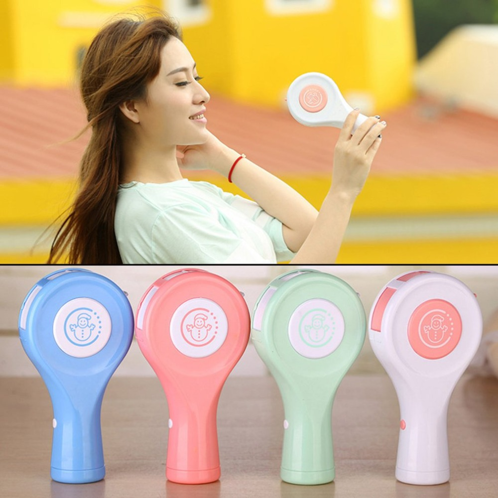 Creative Lollipop Shaped Air conditioning Fan Handy Mini USB Rechargeable Cooling Fan Portable Handheld Small Fan|Fans| |  - title=