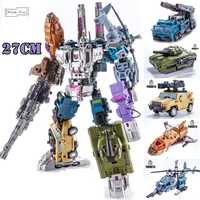 Transformation Bruticus 5IN1 G1 PT05 PT-05 Oversize 27CM Action Figure Robot Kids Toys Combination Deformation Collection Model