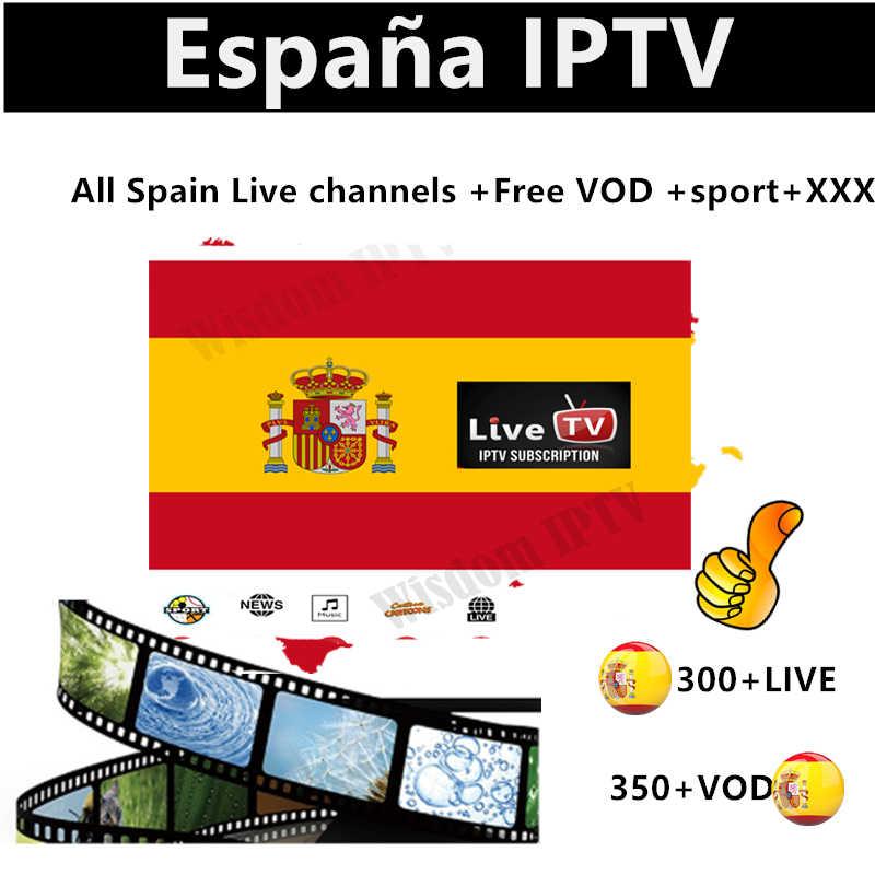 Espagne m3u abonnement espagnol IPTV Premium abonnement full HD espagne 300 + local en direct VOD IPTV espa a M3u smart tv test gratuit