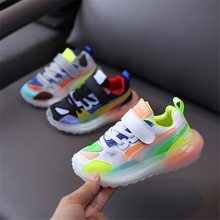Candy Color Children's Sports Shoes 2020 Autumn New Kids
