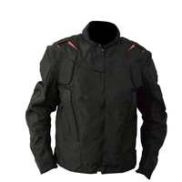 Mesh Textile Riding Jacket Motorcycle ATV Bike Off road Motocross Black Jackets With Protector