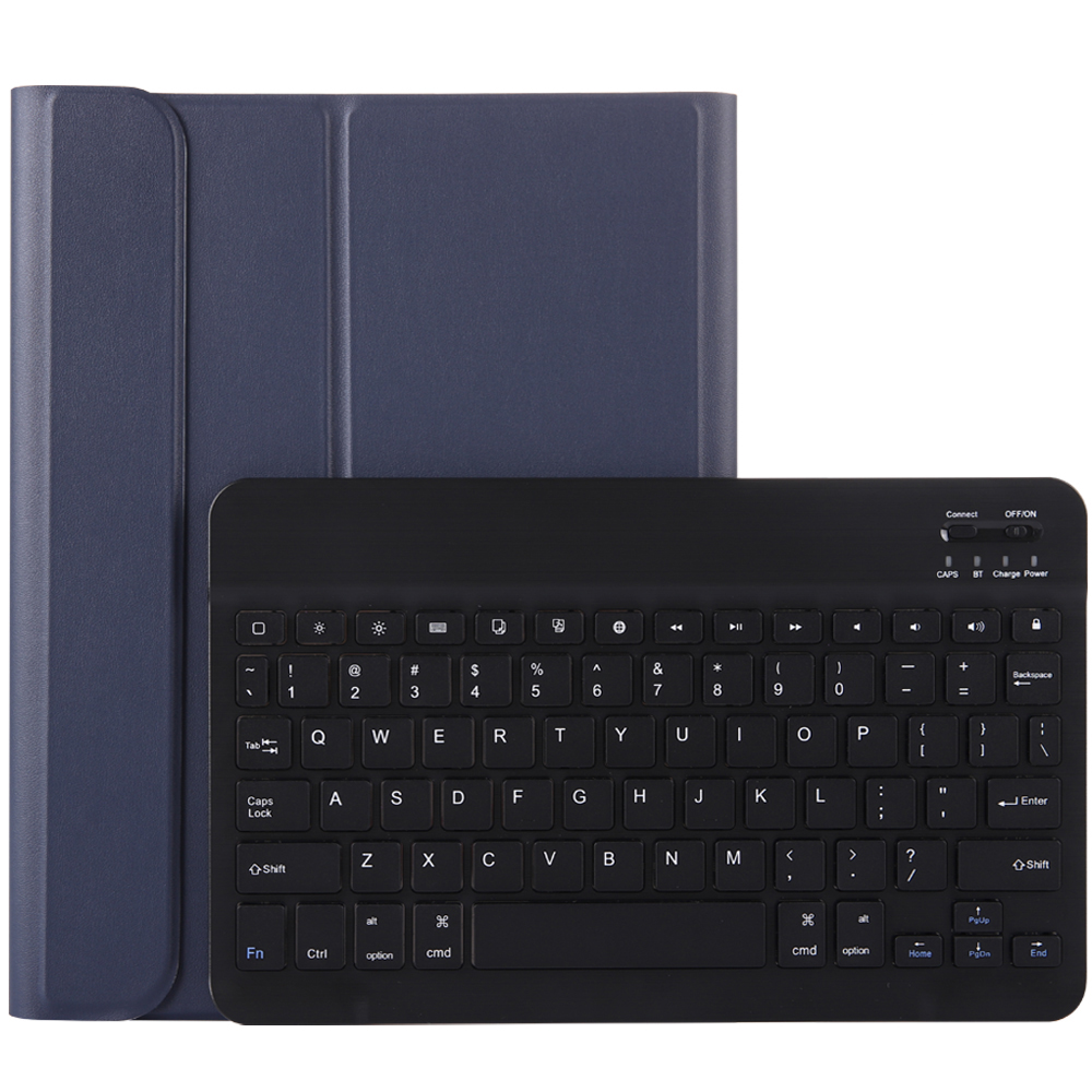 Blue with Black Blue For iPad Pro 11 2020 2018 Keyboard Case with Pencil Holder Keyboard for Apple iPad Pro