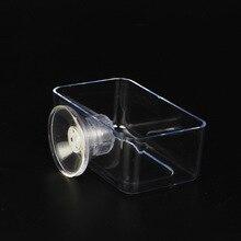 Aquarium Feeder Aquarium Acrylic Feeding Ring Suspended Fish Food Anti-floating Feeding Fish Aquarium Accessories