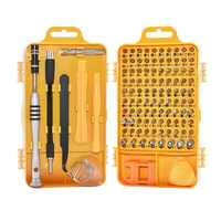 Drop 108 in 1 Screwdriver Set Multi-function Computer Mobile Phone Digital Electronic Device Repair Newest Hand Home Tools Bit