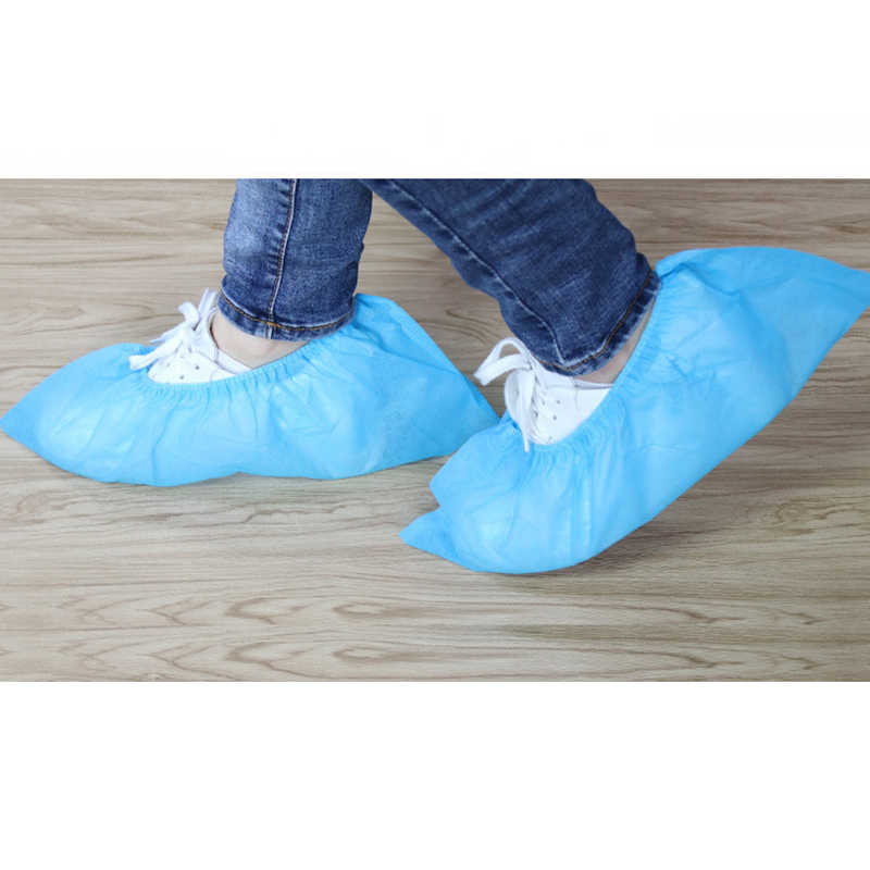 Household Thick Non-woven Shoe Cover Anti-static Non-slip Washable Shoe Cover