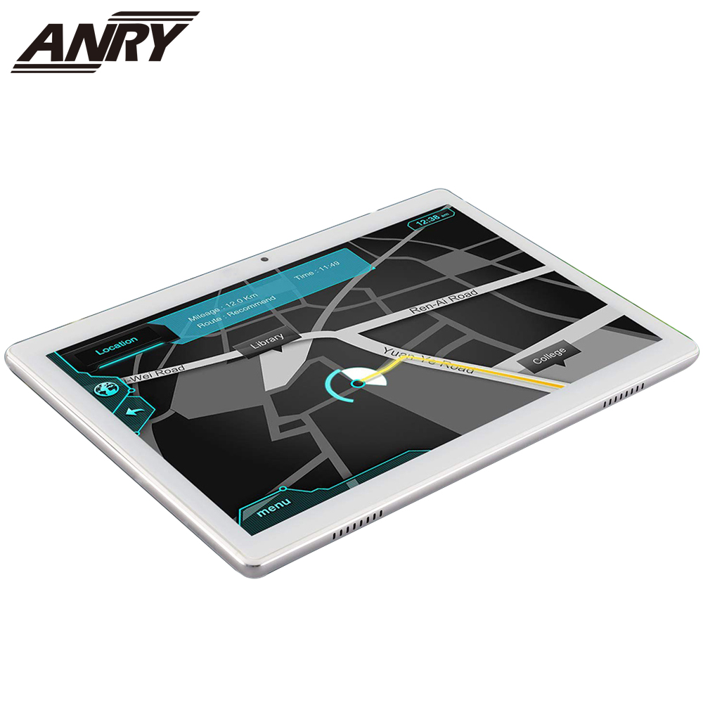 ANRY 3G Phone Call 10.1 Inch Android Tablet 5000mAh 16GB ROM Touch Screen Slim Metal Cover Dual SIM Card IPS