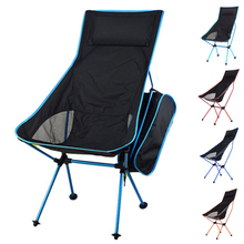 HooRu Folding Chair with Backrest Camping Beach Fishing Deck Chairs Backpacking Chair with Carry Bag Outdoor Garden Furniture cheap Plastic 40x43cm 15 7x 16 9 in Beach Chair H002 Outdoor Furniture Modern Sky Blue Navy Blue Orange Red 42x15x13cm 16 5x5 9x5 1 in