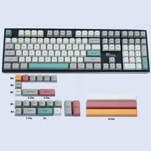 9009 farbe Thema OEM Dye-Subbed Tastenkappen Dicken PBT Material für Cherry MX Schalter 61 63 64 84 87 96 108 mechanische Tastaturen