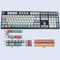 Механические клавиатуры 9009, цветная тема OEM, колпачки для клавиатуры, толстый материал PBT для переключателей Cherry MX 61 63 64 84 87 96 108