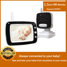 MBOSS 3.5 LCD Screen Digital Video Baby Monitor 2 Way Talk Security Wireless Camera  Night Vision Electronic Babysitter