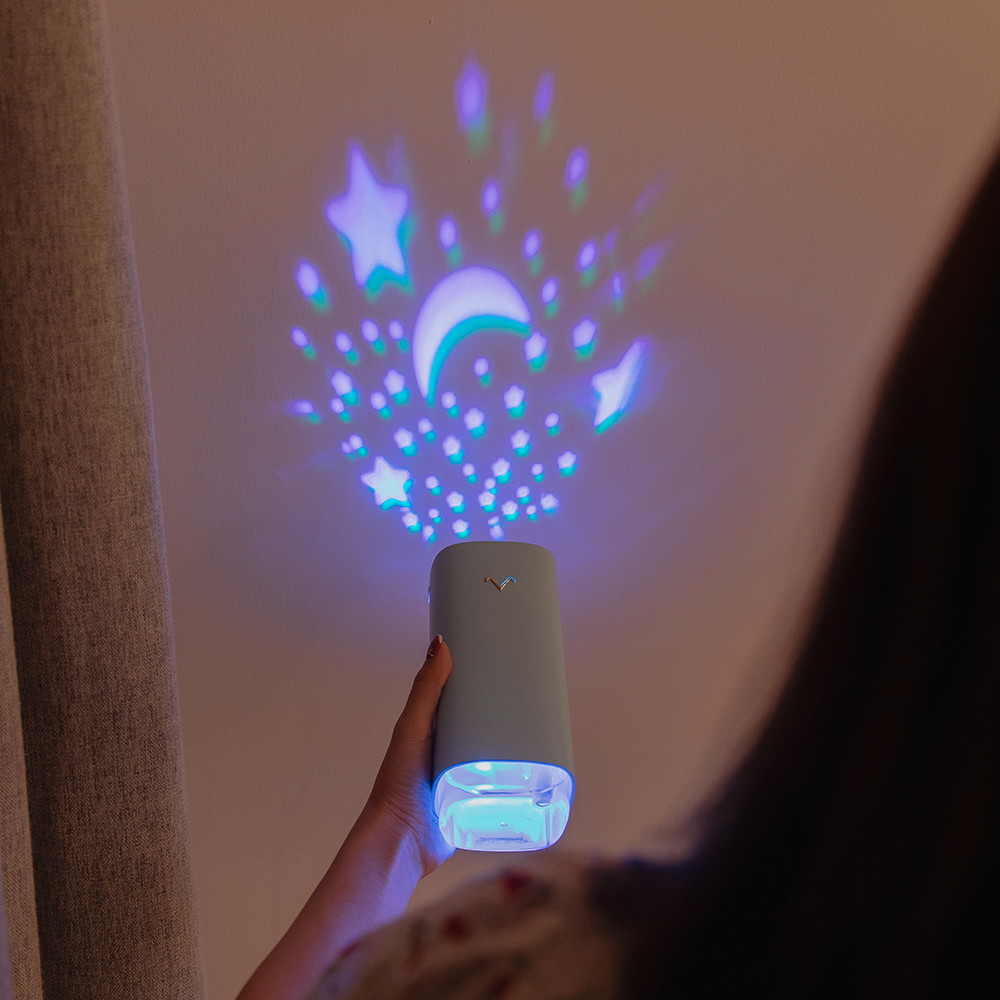 Projector Air Humidifier 320ML Ultrasonic Humidificador USB Aroma Diffuser With Romantic Star Sky Moon Projection Car Freshner