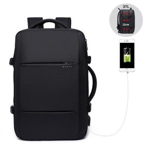 Image 1 - 40L rozszerzalny plecak podróżny o dużej pojemności mężczyźni 15.6 calowy plecak na laptopa Travel FAA torba weekendowa zatwierdzona lotem dla kobiet