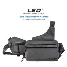 Leo EVA Fabric Waterproof Lure Diagonal Pocket Fishing Gear Sequin Bag