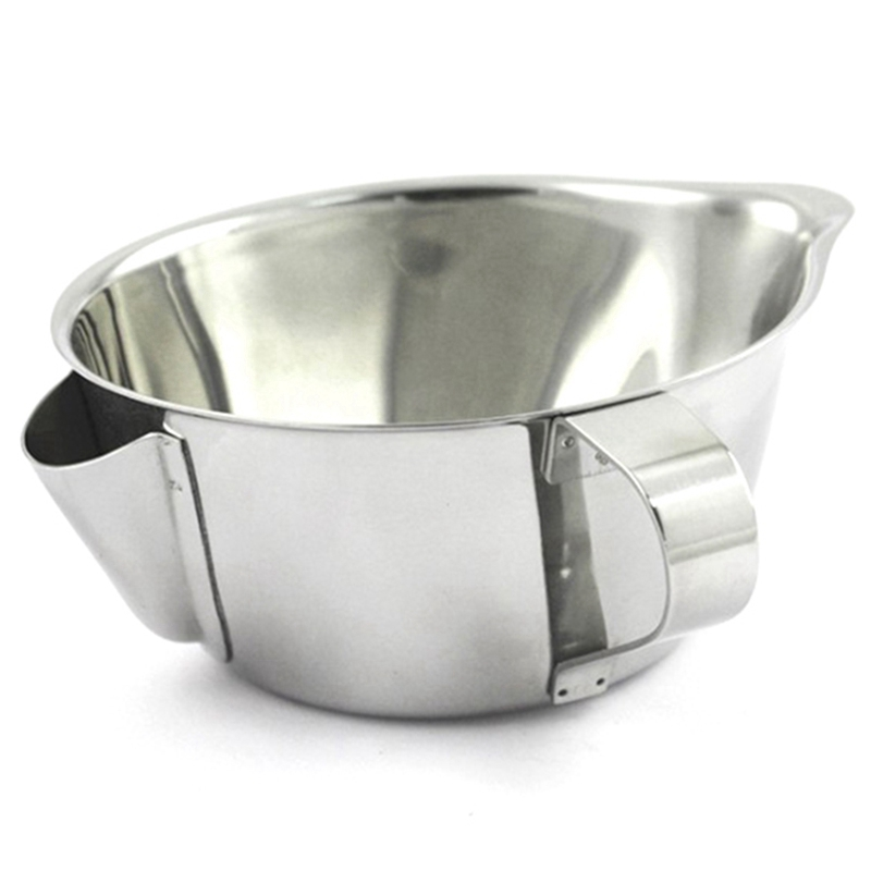 Usefu Stainless Steel Gravy Oil Soup Separator Bowl Multi Use Grease Oiler Filter Strainer Pot Cooking Tools Oil Separator Bowl|Coffee Filters| |  - title=