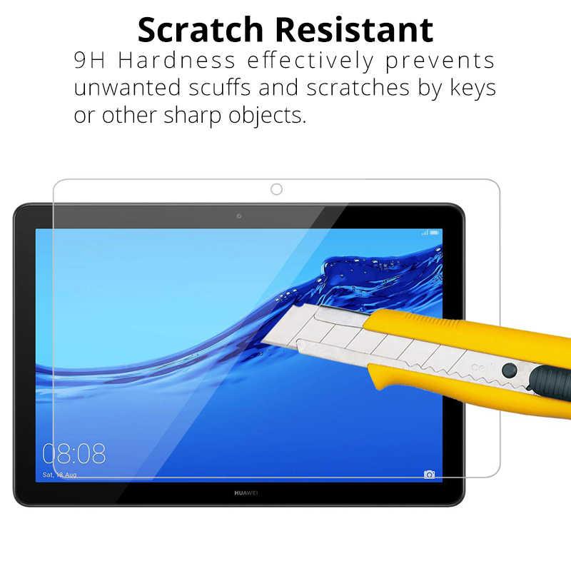 Temperli cam Film ekran koruyucu için Huawei MediaPad T5 10 T3 9.6 7.0 3G M6 10.8 M5 Lite 10.1 matePad Pro 10.8 T8 8.0 10.4
