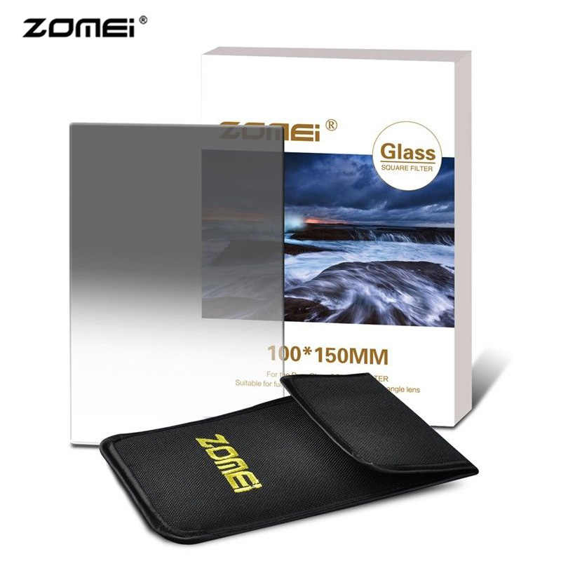 Zomei 150*100 มม.กรองกรอง Soft Graduated Neutral Density ตัวกรอง GND2 GND4 GND8 สำหรับ COKIN Z SLR DSLR