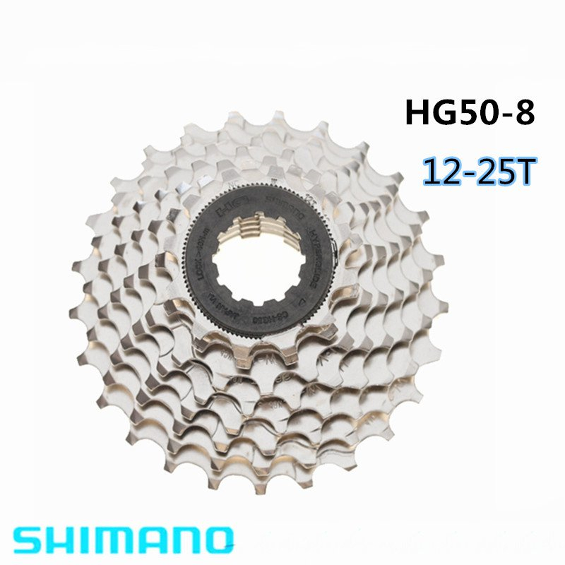 Shimano CS-HG50 8/9/18 Speed 12-25T <font><b>11</b></font>-25T Mountain Bike <font><b>Cassette</b></font> image