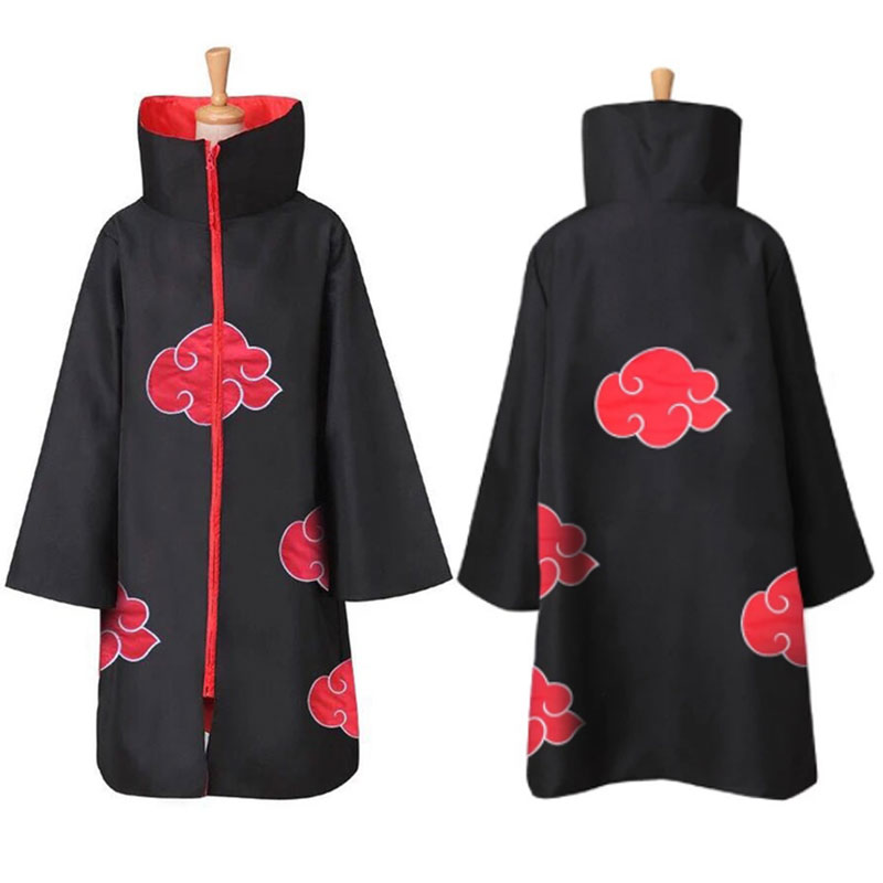 DUOUPA Popular Anime Naruto Cloak COS Xiao Hongyun Cloak Cosplay Yuzhi Clothes Eagle Organization Sauce Cloak Halloween Costumes