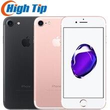 Unlocked Original Apple Iphone 7 4G 2G RAM 32GB/128GB/256GB ROM LTE Mobile Phone 4.7''12.0 MP Fingerprint Smartphone