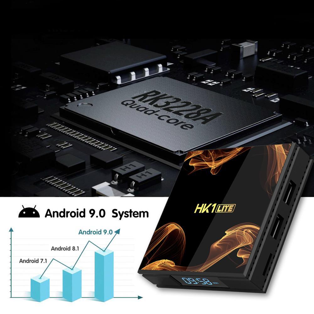 4K Android TV Box Android 9,0 Media Player OTT Box Quad Core Cortex A7 Set Top Box
