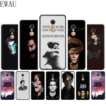 EWAU teen wolf stiles stilinski impreso caja del teléfono de silicona para Xiaomi Redmi 4A 4X4 5X5 5A 5 6 plus Pro 6A 7 7A S2 ir K20 pro