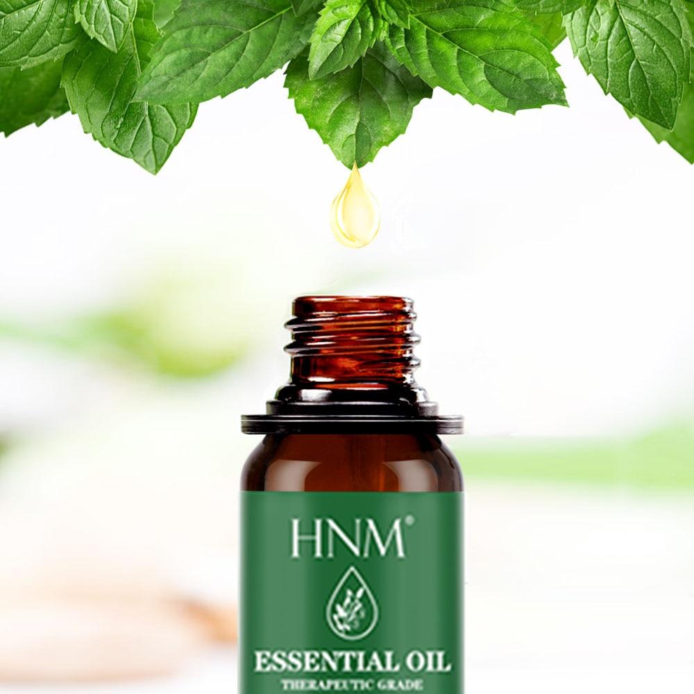 HNM 10ML Pure Essential Oils Massage Humidifier Orange Peppermint Lemon Lemongrass Tea Tree Citronella Oil Essential