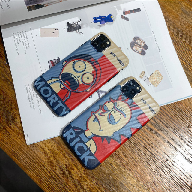 Cartoon Rick Morty Best Friend Fitted Case For iphone