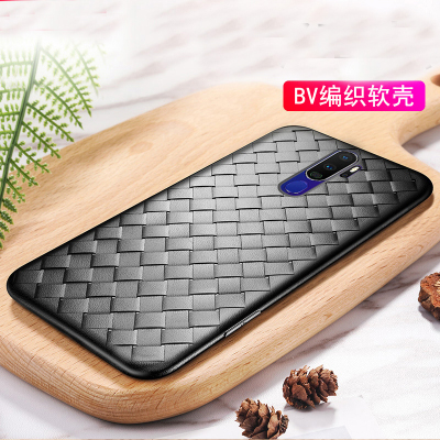 For <font><b>OPPO</b></font> A9 2020 <font><b>Case</b></font> Luxury BV Grid Weaving Slim soft Protective back cover <font><b>case</b></font> for <font><b>oppo</b></font> <font><b>a5</b></font> 2020 full cover <font><b>phone</b></font> shell image