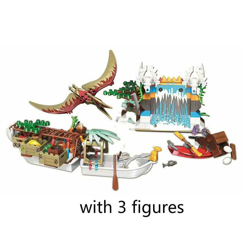 مجموعة حديقة الديناصورات العالمية الجديدة ، مجموعات البناء ، كتل Indominus Rex Indoraptor ، نموذج لعبة الهدايا