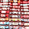 500pcs/lot Multi-pattern Multi-style Homemade Nougat Wrapping Paper Party Multi Color Candy Twisting Wax Paper Baby Shower Decor