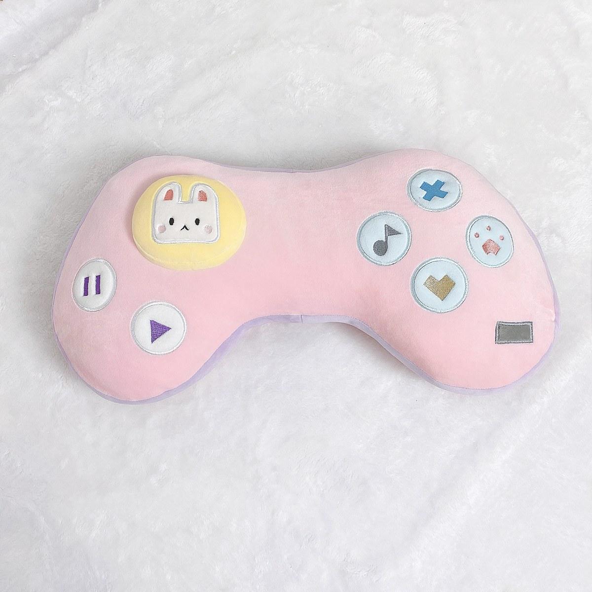 Kawaii Game Console Controller Pillow Plush 8