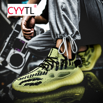 CYYTL New Mens Casual Snakers Fashion Sports Shoes Breathable Mesh Lightweight Running for Men Tenis Masculino