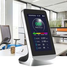 Air Quality Monitor PM2.5 HCHO TVOC dust analyzer Gas Pollution sensor detector indoor/outdoor with History Function