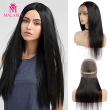 MALAIKA Full Lace Human Hair Wigs For Black Women Pre Plucke