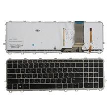 Keyboard Backlit Russian for HP 17/15-17t/15t/.. Black Laptop