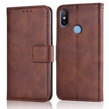Xiomi Mi 8 caso de lujo Slim cubierta de tirón de cuero para Xiaomi Mi 8 8SE cartera caso tarjeta magnética cubierta de libro Mi8 Mi8se Mi8 se